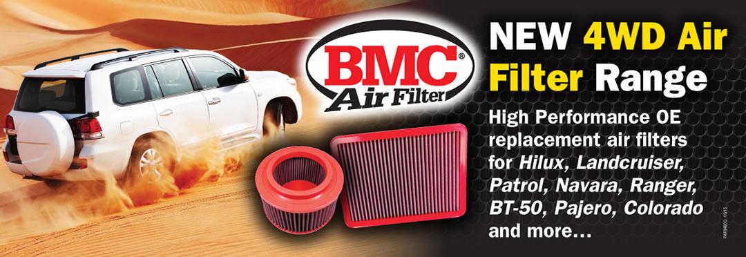 BMC 4wd high performance air filters