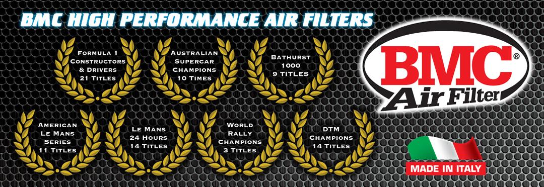 bmc high performance air filters wreaths 2017